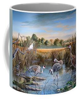 Paynes Prairie Preserve State Park- Day Of The Sand-hill Coffee Mug