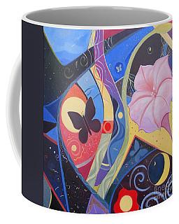 Peace And Flow Coffee Mug by Helena Tiainen