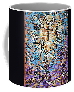 Coffee Mug featuring the painting Peace by Anthony Falbo