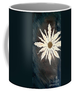 Coffee Mug featuring the painting Peace Flower by Jacqueline McReynolds