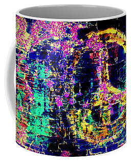 Coffee Mug featuring the photograph Peace Graffiti by Suzanne Stout