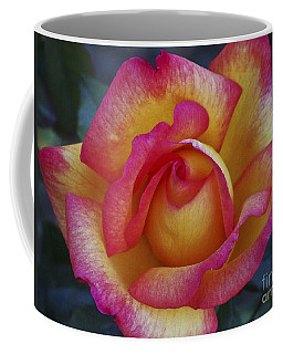 Peace In Floral Format Coffee Mug
