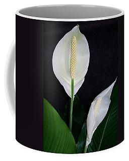 Peace Lilies Coffee Mug