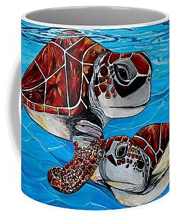 Peace Love And Turtles Coffee Mug