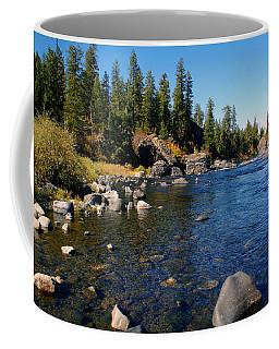 Peace On The Spokane River 2 Coffee Mug