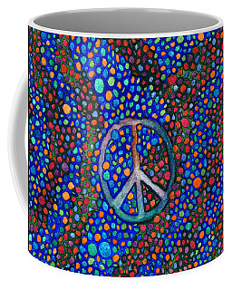 Peace Sign Coffee Mug
