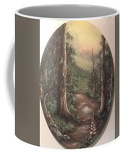 Coffee Mug featuring the painting Peace Time by Megan Walsh