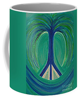 Peace Tree By Jrr Coffee Mug by First Star Art
