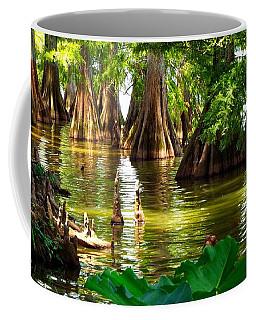 Peaceful Cypress Trees  Coffee Mug
