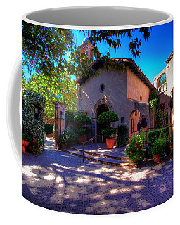 Coffee Mug featuring the photograph Peaceful Plaza by Dave Files