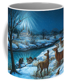 Peaceful Winters Night Coffee Mug