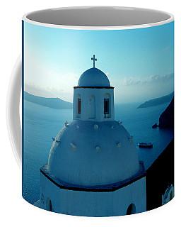 Peacefull Santorini Greek Island  Coffee Mug