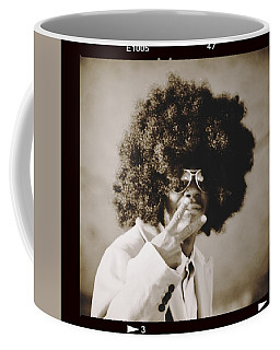 Coffee Mug featuring the photograph Peaceman by Alice Gipson