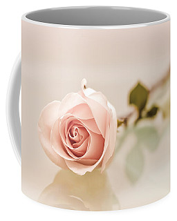 Peach Rose Coffee Mug