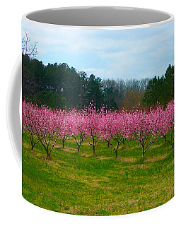 Peach Tree Grove By Jan Marvin Coffee Mug