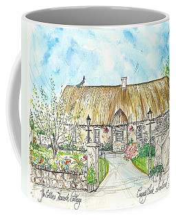 House Portrait Peacock Cottage Kanturk County Cork Ireland Coffee Mug