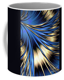 Peacock Tail Feather Coffee Mug