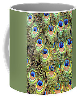 Peacock Tail Coffee Mug