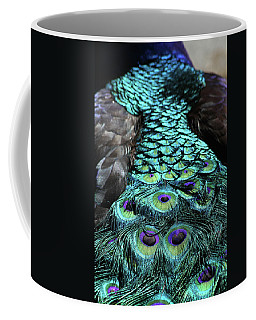 Peacock Trail Coffee Mug