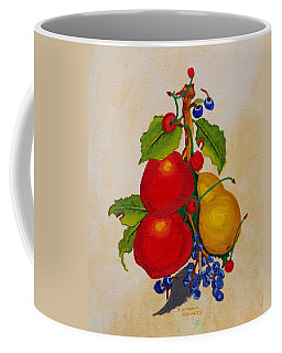 Pear And Apples Coffee Mug