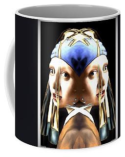 Pearl Earring Pearl Coffee Mug