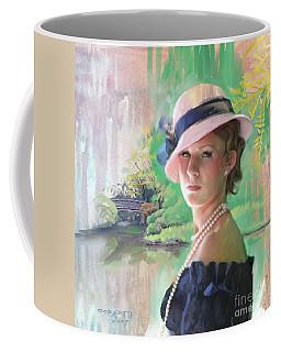 Pearls And Pink Coffee Mug
