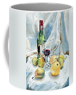 Pears And Wine Coffee Mug