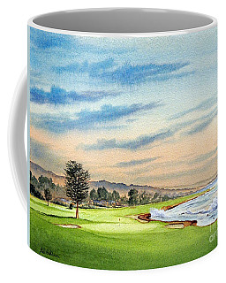 Pebble Beach Golf Course 18th Hole Coffee Mug