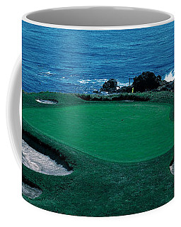 Pebble Beach Golf Course 8th Green Coffee Mug