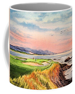 Pebble Beach Golf Course Hole 7 Coffee Mug