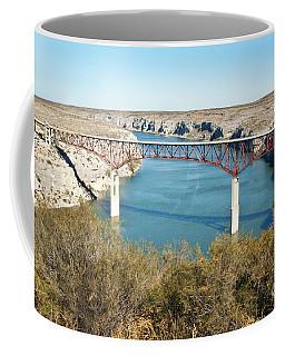 Coffee Mug featuring the photograph Pecos Bridge by Erika Weber