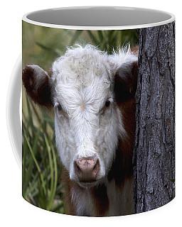 Peek A Moo Coffee Mug