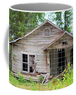 Peeking In At The Past Coffee Mug