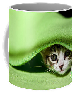 Peeking Coffee Mug