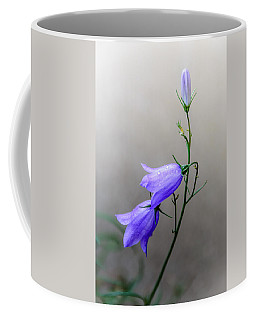Blue Bells Peeking Through The Mist Coffee Mug