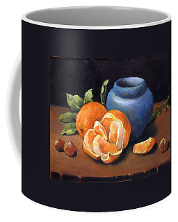 Peeled Orange Coffee Mug
