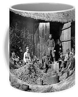 Peeling Potatoes For Soldiers Coffee Mug