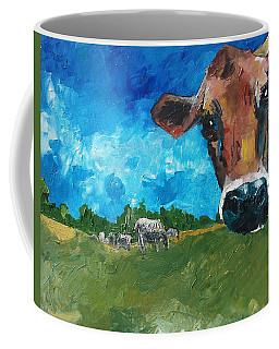 Peeping Bessie Coffee Mug