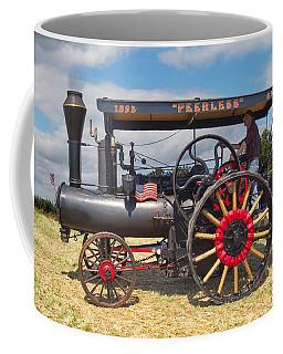 Coffee Mug featuring the digital art Peerless Steam Traction Engine by Paul Gulliver