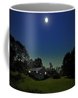 Coffee Mug featuring the photograph Pegasus And Moon by Greg Reed
