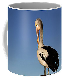 Pelican Alone Coffee Mug