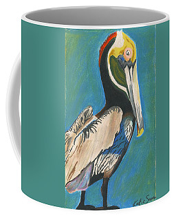 Pelican Blue Coffee Mug