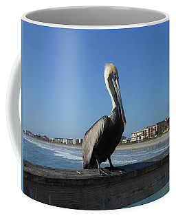 Pelican  Coffee Mug by Kay Gilley