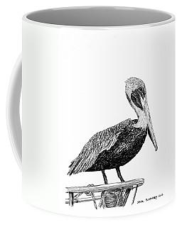 Monterey Pelican Coffee Mug