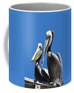 Pelican Pair Coffee Mug by Tom Janca