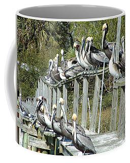 Pelican Party Coffee Mug