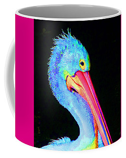 Coffee Mug featuring the photograph Pelican Partygoer 3 by Margaret Saheed