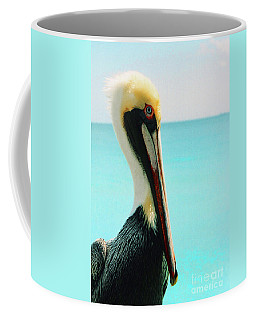 Pelican Profile And Water Coffee Mug