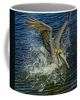 Pelican Splash Landing Coffee Mug