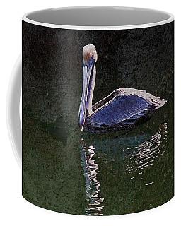 Pelican Zen Coffee Mug by Suzanne Stout